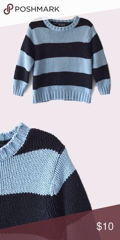 The Children's Place Striped Sweater The Children's Place   size XS (4)   long sleeves   striped pattern   all pictures taken by me product shown as is Children's Place Shirts & Tops Sweaters