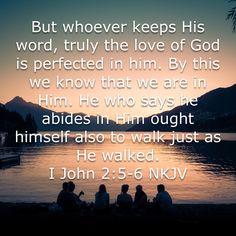 1 John 2:5,6
