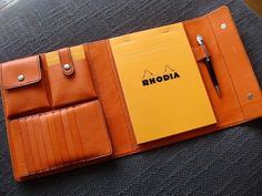 Perhaps an addition to my work bag. Leather Pouch, Leather Men, Notebooks, Journals, Leather Factory, Leather Workshop, Leather Portfolio, Leather Notebook, Hobonichi