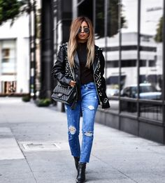 3 WAYS TO SPORT THE STUDS TREND LIKE A COOL GIRL WOULD