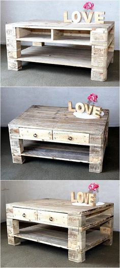 wooden pallet table project