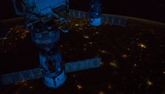 Pre-Dawn Panorama From Space Station