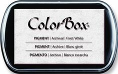 Amazon.com: Clearsnap ColorBox Full Size Pigment Ink Pad: Frost White: Home & Kitchen