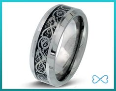 Tungsten Wedding BandsMens RingMens Wedding by InfiniteBands Mens Wedding Rings Tungsten, Jewelery, Men's Jewelry, Blue Rings, Beautiful Rings, Cool Gifts, Gemstone Rings, Rings For Men, Jewelry Making