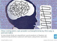 #schizophrenia #mentalhealth $health Computers can predict schizophrenia