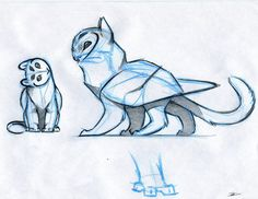Owl Griffin design by RobtheDoodler on deviantART Creature Drawings, Animal Drawings, Cute Drawings, Inspiration Art, Character Design Inspiration, Art Du Croquis, Owl Cat, Art Mignon, Mythical Creatures Art