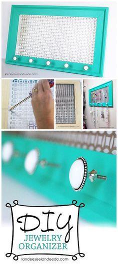 10 ideas para guardar accesorios Organizing Sprays and Organizations