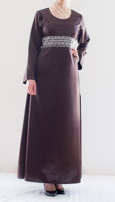Vatne brun Abaya www.niya.no