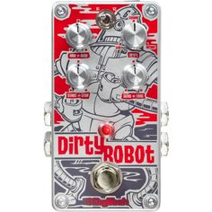 DigiTech Dirty Robot - I am just so happy I bought this!! Stick through a delay and just let the swell build up!! Really cool 80s style synth engine.