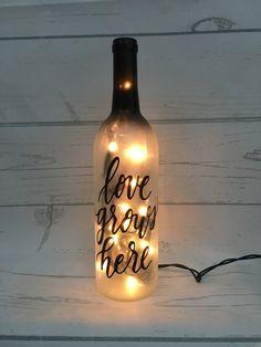 string lights Another Day Another Pli\u00e9- Wine Bottle Light ballerina ballet nightlight lighted bottle dancer