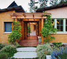 Vine Hill Road Straw Bale Residence - eclectic - exterior - san francisco - Arkin Tilt Architects