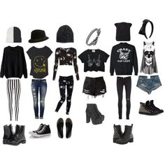 emo outfits for summer, these are awesome Cute Emo Outfits, Bad Girl Outfits, Scene Outfits, Punk Outfits, Gothic Outfits, Teenager Outfits, Teen Fashion Outfits, Swag Outfits, Grunge Outfits