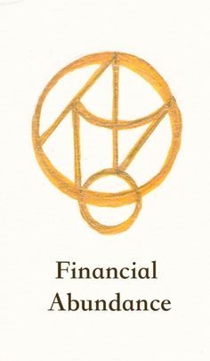 "sopherielspeaks: "" A sigil for Financial Abundance~ I drew this one on my wrist, for hopes of helping my business and intuitive work. To learn about sigils, how to use this, or get a custom sigil, click here! """