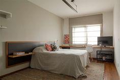 Um lindo apartamento com concreto aparente na decoração - limaonagua
