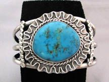 1960s Native American Navajo Made Cuff Bracelet