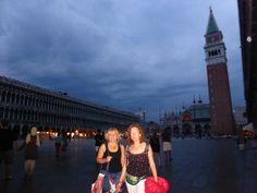 Les Princeses Mizar i Alcor a la Piazza San Marco de Venezia. (Itàlia)