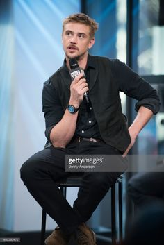 Boyd Holbrook attends AOL Build Series