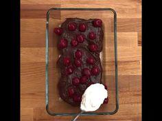 Csokis meggyes rakott piskóta - YouTube No Bake Treats, Cherry, Baking, Fruit, Youtube, Food, Bakken, Essen, Meals