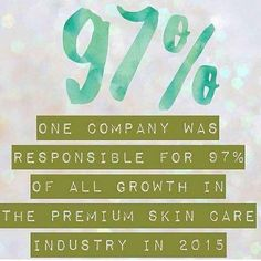 Harvard business journal says this is a once in a lifetime opportunity to join this fast growing business, and I completely agree. Rodan and Fields is going global and only 7% of the world has access to our life changing products.