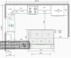 Why Everybody Is Talking About Kitchen Layout With Island Small Floor Plans.The Simple Truth R Kitchen Layout U Shaped, Kitchen Layout Plans, Kitchen Layouts With Island, Kitchen Floor Plans, Kitchen Flooring, Small Kitchen Plans, Island Kitchen, Square Kitchen Layout, Best Kitchen Layout