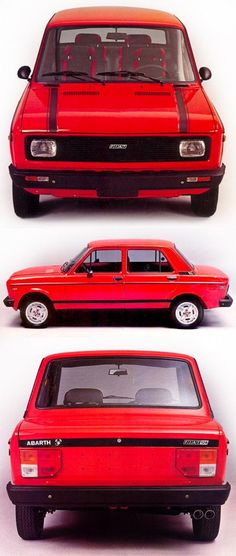 FIAT 128 Simple, clean, functional. 80% of space devoted to passengers/luggage, Large bumpers that protect the body from damage, Large tail lamps, Excellent visibility Close to perfect design, and completely underrated. Had you ever heard of it?