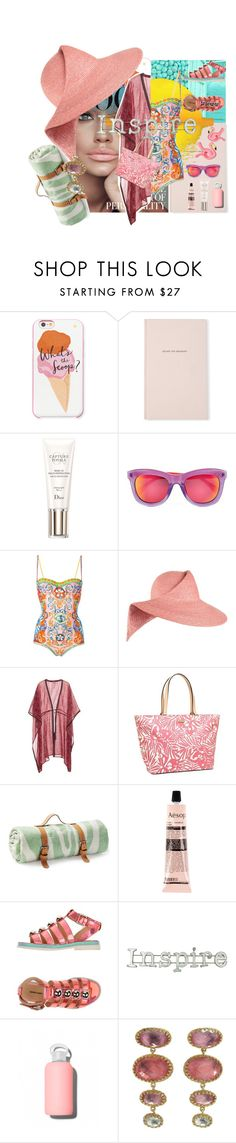 """""""You are anything but ordinary!!!!"""" by kjlnelson ❤ liked on Polyvore featuring Kate Spade, Christian Dior, Markus Lupfer, Dolce&Gabbana, Eugenia Kim, Talitha, Maslin & Co., Aesop, Enchanté and bkr"""