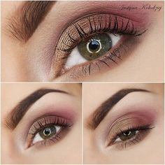 Spring #smokyeye #eyemakeup #brown bellashoot.com (mobile-friendly),