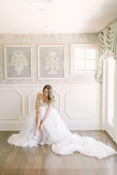 Photography: Love & Light Photographs - http://www.loveandlightphotographs.com Wedding Dress: Mark Zunino - http://markzunino.com/   Read More on SMP: http://www.stylemepretty.com/2016/10/11/blogger-bride-jess-galfo-wedding-part-ii/