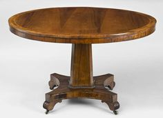 Antique English Regency Rosewood Center Table image 3