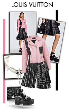 """Pink it up!"" by fl4u ❤ liked on Polyvore featuring Louis Vuitton"