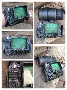 Pip-Boy 3000 Fallout cosplay display prop