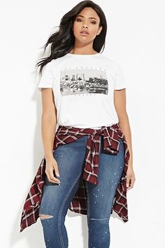 Plus Size Los Angeles Graphic Tee | Forever 21 PLUS #forever21plus