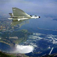 Vulcan over Niagara Falls