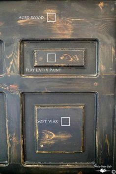 How to paint wood furniture with latex paint. Includes tips for chalked-based, milk paint and mud paint too!   Country Design Style   countrydesignstyle.com