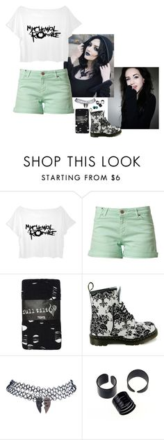 """""""Dreaming In Denial-- Cardin #4"""" by lifesucks-musichelps ❤ liked on Polyvore featuring Twist & Tango, Full Tilt, Dr. Martens and Wet Seal"""