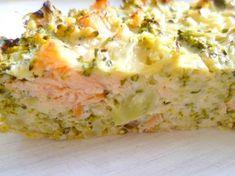 La quiche sans pâte brocolis saumon fumé