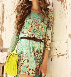 love the floral