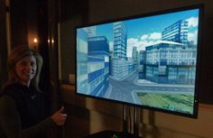 Virtual city created fr Patty's thumbprint w CityEngine at #Esri #Lavahouse at #SXSW. Stop by and bring your thumb http://twitter.yfrog.com/h6cgminj