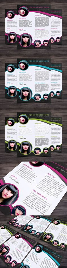 Flyer Template 004 for Photoshop