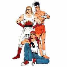 Ryu Street Fighter, Snk Games, Comic Games, Art Of Fighting, Fighting Games, Fatal Fury Characters, Fictional Characters, King Of Fighters 95, Samurai
