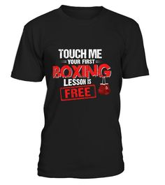 Touch Me Your First Boxing Lesson Is Free