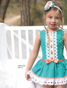 . #dress #girl #bow