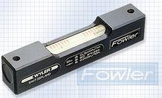 Fowler Wyler Screw-On Spirit Level 52-422-066