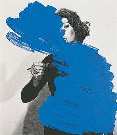 #blue #paint #gif