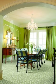 I LOVE This Dining Room Would Not Paint The Walls Green Though