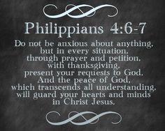 Philippians 4:6-7 from Bright Green Door