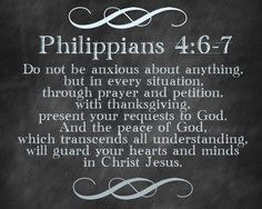 Philippians 4:6-7 from Bright Green Door