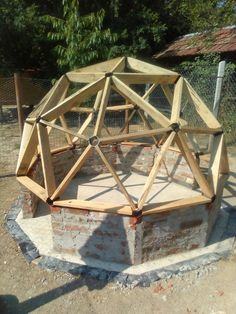 Geodome chicken coop