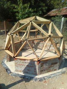 Geodome chicken coop