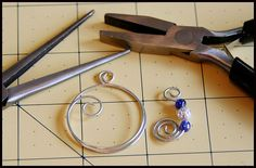 Wire Jig Templates | The extra length on the ends were then twisted using the Needle Nose ...